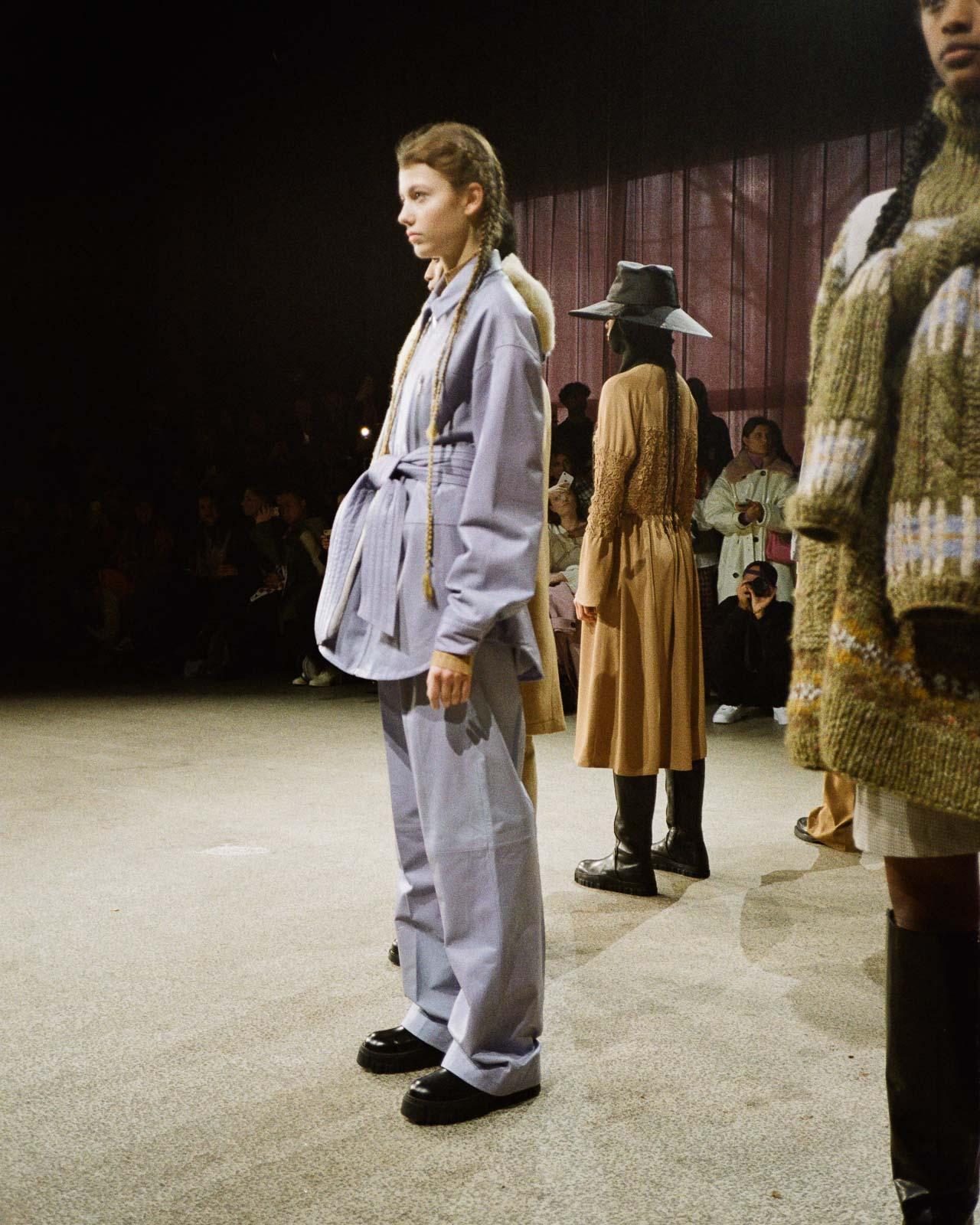 Copenhagen Fashion Week Holzweiler AW 2020 show