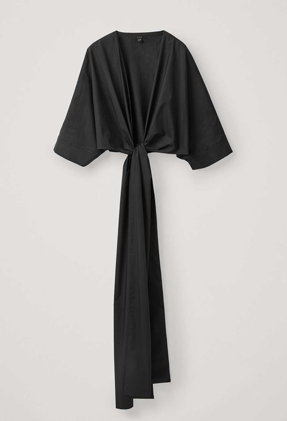 versatile tie-up top from cos in black