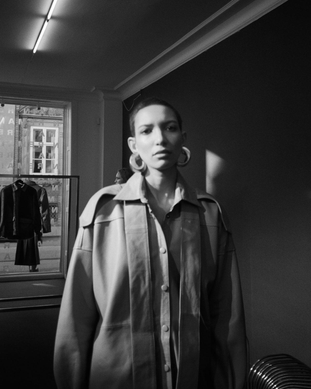 Copenhagen Fashion Week Remain Birger Christensen Präsentation AW2020 leather top